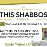 Shabbos at the Besht: Buying Teffilin and Mezuzos