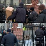 Shomrim Catches Porch Pirate in the Act