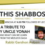 Shabbos at the Besht: A tribute to My Uncle Yonah