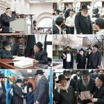 HaRav Yitzchok Raitport Visits Oholai Torah