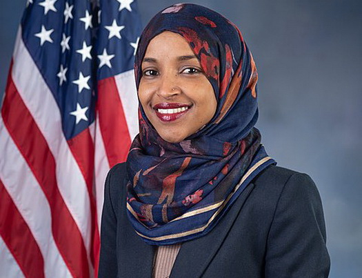 rep  ilhan omar in damage