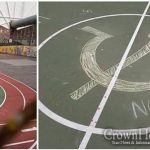 Hate Filled Graffiti Scrawled on School Playground