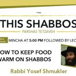 Shabbos at the Besht: How to Keep Food Warm on Shabbos