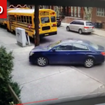 Caught on Camera: What Not to do When you see a School Bus with its Red Lights Flashing