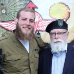 Former US chaplain Attends Grandson's IDF Ceremony