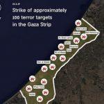Israel Retaliates for Rocket Fire, 100 Targets Hit