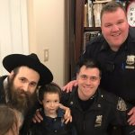 71st Precinct Visits Its Newest Member This Purim