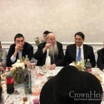 Israels Ambassador Joins Purim Seudah in Crown Heights