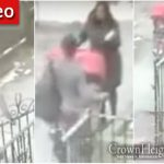 Caught on Camera: Babies in Their Carriage Kicked Aside in Hate Filled Incident