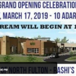 Live at 12:15pm: Grand Opening of Rashi's Campus