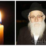 BDE: Rabbi Zev Wolf (Velvul) Kesselman, 91, OBM