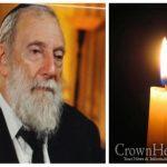 BDE: Rabbi Binyomin Katz, 78, OBM