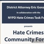 Hate Crimes Forum Coming to Crown Heights