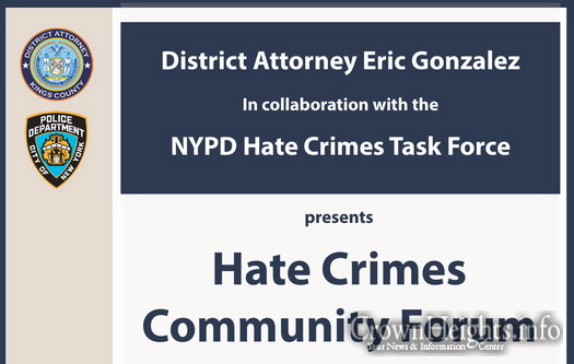 Hate Crimes Forum Coming to Crown Heights • CrownHeights
