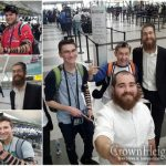A Stop at Chabad Air on the Way to March of the Living