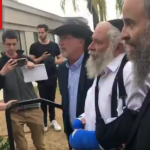 <strong>VIDEO</strong>: Rabbi Goldstein Returns to his Chabad House