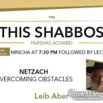 Shabbos at the Besht: Netzach - Overcoming Obstacles