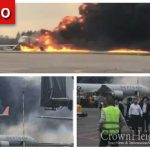 Russian Jet Catches Fire, Makes Emergency Landing