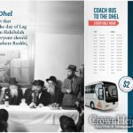 Lag B'omer: Coach Buses from Crown Heights to the Ohel