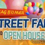 Lag B'Omer Street Fair in Crown Heights