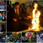 Lag B'Omer Bonfire in Moscow, a Photo Gallery