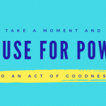 #PauseForPoway, a Campaign of Good Deeds