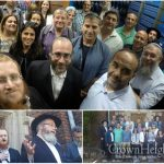 Visiting Israeli Mayors Stop by 770