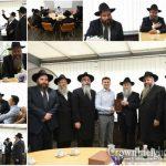 Ukrainian President Elect Vladimir Zelenskiy Meets Chief Rabbis and Shluchim