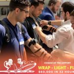 Wrap, Light, Celebrate, Fly With Chabad of the Airport