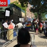 Rally and Protest in Crown Heights Over Immodest Public Book Readings