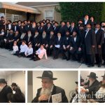 Rabbi Kotlarsky Celebrates his 70th at the Ohel