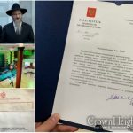 Mr. Putin Sends Birthday Greetings to Chief Rabbi of Russia on his 55th Birthday