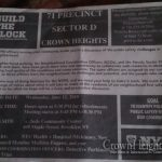 NYPD Build The Block Meeting for Lower Crown Heights