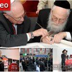 A Sefer Torah for Alan Dershowitz