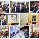 Kinnus Torah and Siyum Maseches at Moscow's Central Shul
