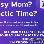 REMINDER: Free Vaccine Clinic Monday