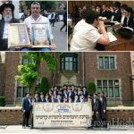 Chabad Yeshiva in Antwerp Visits Crown Heights