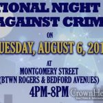 71st Precinct to Host National Night Out Against Crime