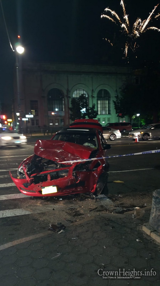 July 4th Accident Sends 2 to the Hospital in Crown Heights