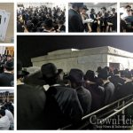 Chassidim Gather at the Ohel in Preparation for Gimmel Tammuz