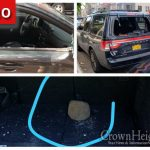Car Windows Broken in Crown Heights Week Long Vandalism Spree