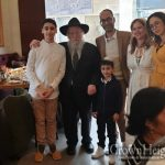 Jewish Couple Living In The Lubavitcher Rebbe's Apartment in France, Moves to Israel