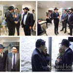 Israels Ambassador to the UN Visits the Ohel