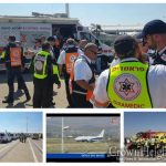Plane Lands Safely in Israel After Landing Gear Fails
