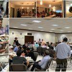 Rabbi Lew Inspires at Three Yud Beis Tammuz Farbrengens in Hallandale Beach