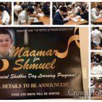 New Mivtzah in Honor of Shmuel Karnovsky OBM, at Tzeirei Hashluchim in Tzfas