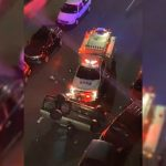Man Flips Car After Being Shot in Crown Heights