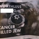 Anti-Semitic Fliers Blanket Ridgewood Street