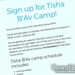 2:00PM: Chitas For Kids-Tisha B'Av Camp