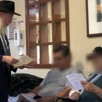 At El Paso Hospital, Rabbi Visits with Injured and Bereaved